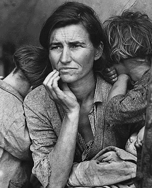 "Dorothea Lange's ""Migrant Mother"""