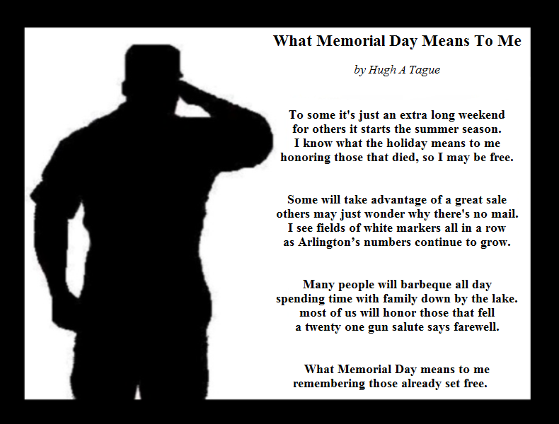 what veterans day means to me essays Because it means that without veterans to me veterans are very important people in our world and i am proud to importance of veterans day.