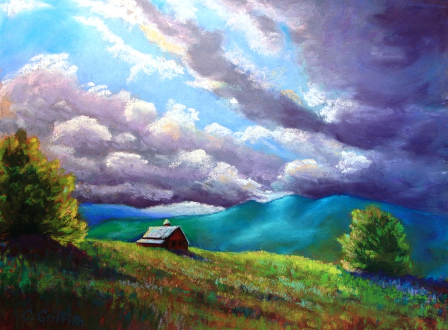 """Late Summer Storm"" by Cindy Griffith"