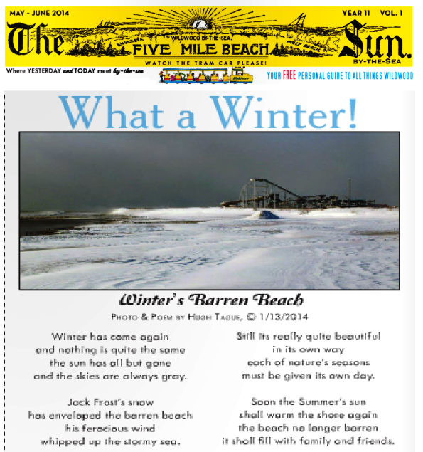 The Wildwood Sun by the Sea Magazine